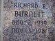 Richard R Burnett