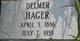 "Delmer ""Del"" Hager"