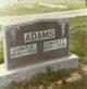 Sarah Ellen <I>Howe</I> Adams