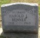 Profile photo:  Harold L Benner