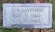 Edward B Davidson
