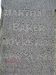 Martha Jane <I>Chisman</I> Baker