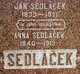 Profile photo:  Anna <I>Chadek</I> Sedlacek
