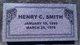 Henry Crimson Smith