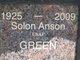 Profile photo:  Solon Anson Green