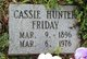 Cassie <I>Hunter</I> Friday