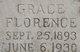 Grace Florence Allen