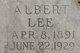 Albert Lee Allen