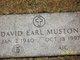 Profile photo:  David Earl Muston, Jr