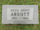 Profile photo:  Birdie <I>Knott</I> Abbott