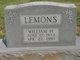 "William Herbert ""Herbert"" Lemons"