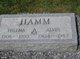 Profile photo:  Alvin Hamm