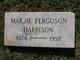 Marjie <I>Ferguson</I> Harrison