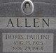 Doris Pauline Allen