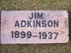 "Profile photo:  James A. ""Jim"" Adkinson"