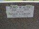 Nellie Ada <I>Gibson</I> Allen