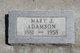 Profile photo:  Mary J Adamson