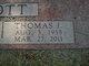 """Thomas J """"Tommy"""" Bott"""