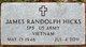 "Profile photo:  James Randolph ""Randy"" Hicks"