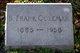 """Profile photo:  Benjamin Franklin """"Frank"""" Coleman, Sr"""