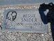 Bessie Snider