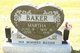 Martha <I>Miller</I> Baker