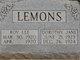 Dorothy Jane Lemons