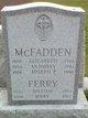 Elizabeth <I>Ferry</I> McFadden