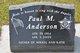 Profile photo:  Paul M Anderson