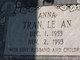 "Profile photo:  Tran Le ""Anna"" An"