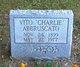 """Profile photo:  Vito """"Charlie"""" Abbruscato"""