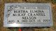 Profile photo:  Bertha Elminer <I>McKay</I> Nelson