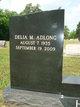 Delia Marie <I>Adlong</I> Harlan