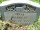 Opal Barrett