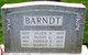Harold Alderfer Barndt