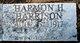 "Harmon Henry ""Buddy"" Harrison"