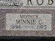 Minnie Cordelia <I>Pendergraft</I> Robinson