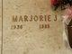 Marjorie Joan <I>Johnson</I> Yeakley