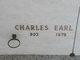 Charles Earl Ashley