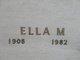 Ella M. <I>Livingston</I> Ashley