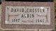 "David Chester ""Chet"" Albin"