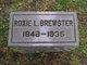 """Profile photo:  Roxana Lake """"Roxie"""" <I>Randolph</I> Brewster"""