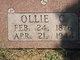 Ollie C. <I>Rue</I> Avants