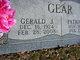 Profile photo:  Gerald J Gear