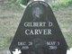 """Gilbert Dean """"Gib"""" Carver, Sr"""