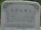 Alpha Jane <I>Woodell</I> Adams