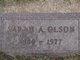 Sarah Adelia <I>Monson</I> Olson