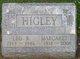 Margaret Louise <I>Lindsey</I> Higley