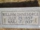 William Fred Ohnesorge