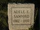 Profile photo:  Adele E Sanford
